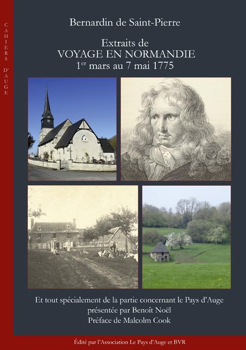 Bernardin de Saint-Pierre. Extraits de Voyage en Normandie 1er mars au 7 mai 1775