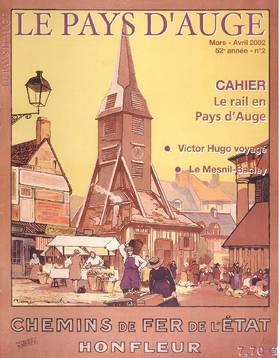 Revue le Pays d'Auge couverture Mars/Avril 2002