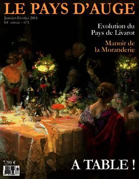 Revue le Pays d'Auge couverture Janvier-Février 2014