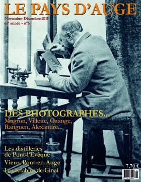 Revue le Pays d'Auge couverture Novembre/Décembre 2011