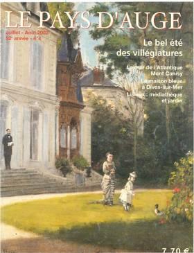 Revue le Pays d'Auge couverture Juillet/Août 2002