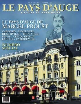 Revue le Pays d'Auge couverture mars-avril 2021