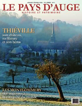 Revue le Pays d'Auge couverture Janvier-Février 2020