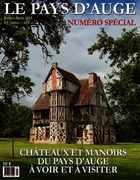 Revue le Pays d'Auge couverture Juillet/août 2013