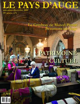 Revue le Pays d'Auge couverture Novembre/Décembre 2009