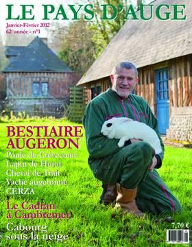 Revue le Pays d'Auge couverture Janvier/Février 2012