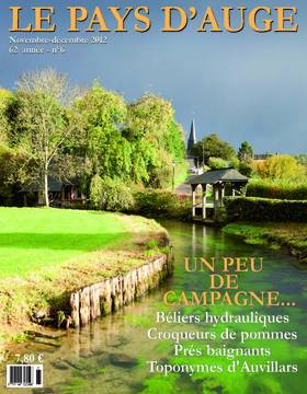 Revue le Pays d'Auge couverture Novembre-décembre 2012