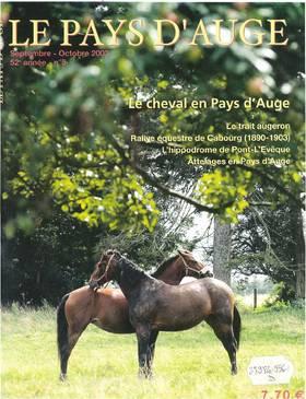 Revue le Pays d'Auge couverture Septembre/Octobre 2002