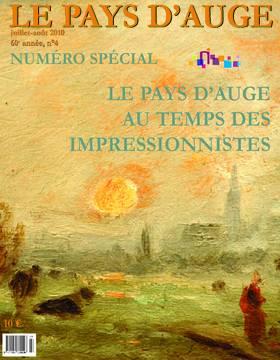 Revue le Pays d'Auge couverture Juillet/Août 2010