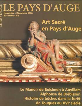 Revue le Pays d'Auge couverture Novembre/Décembre 2003
