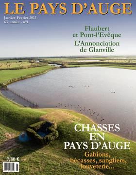 Revue le Pays d'Auge couverture Janvier-Février 2013