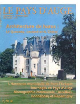 Revue le Pays d'Auge couverture Septembre-Octobre 2003