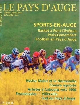 Revue le Pays d'Auge couverture Juillet-Août 2003