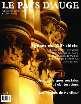 Revue le Pays d'Auge couverture Septembre/Octobre 2007