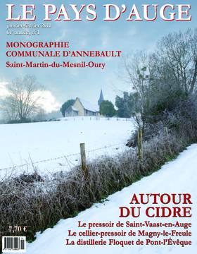 Revue le Pays d'Auge couverture Janvier/Février 2011