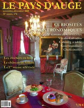 Revue le Pays d'Auge couverture Novembre-décembre 2008