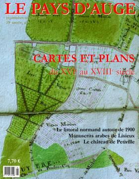 Revue le Pays d'Auge couverture Septembre/Octobre 2009