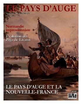 Revue le Pays d'Auge couverture novembre-décembre 2013