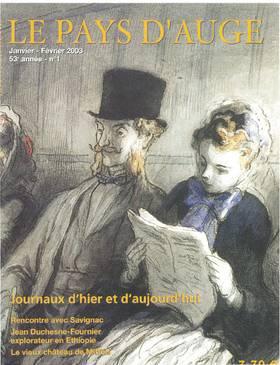 Revue le Pays d'Auge couverture Janvier/Février 2003