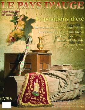 Revue le Pays d'Auge couverture Juillet-Août 2005