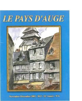 Revue le Pays d'Auge couverture Novembre/Décembre 2001