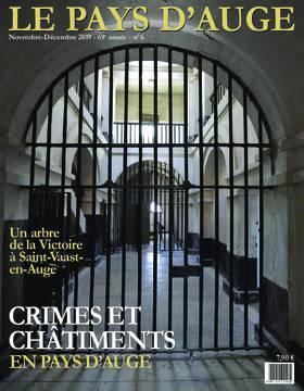 Revue le Pays d'Auge couverture Novembre-Décembre 2019
