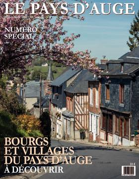Revue le Pays d'Auge couverture Juillet-août 2016