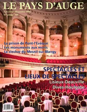 Revue le Pays d'Auge couverture Novembre/Décembre 2006