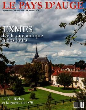 Revue le Pays d'Auge couverture septembre-octobre 2014