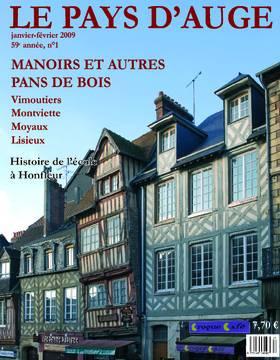 Revue le Pays d'Auge couverture Janvier/février 2009