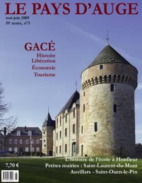 Revue le Pays d'Auge couverture mai-juin 2009