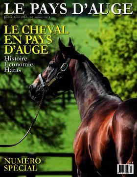Revue le Pays d'Auge couverture Juillet-Août 2014