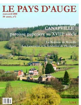 Revue le Pays d'Auge couverture Mars/avril 2008