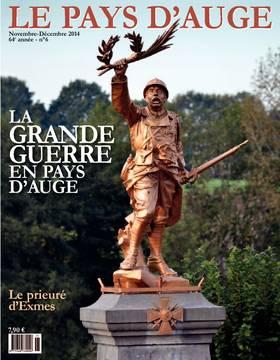 Revue le Pays d'Auge couverture novembre-décembre 2014
