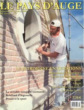 Revue le Pays d'Auge couverture Septembre/Octobre 2005