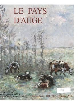 Revue le Pays d'Auge couverture Janvier/Février 2001