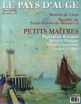 Revue le Pays d'Auge couverture Mars/Avril 2012