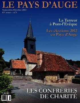 Revue le Pays d'Auge couverture Septembre-Octobre 2013