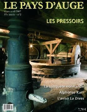 Revue le Pays d'Auge couverture Mars/Avril 2007