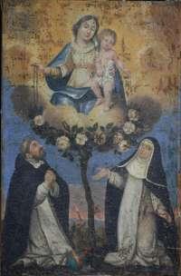 La Donation du Rosaire avant restauration