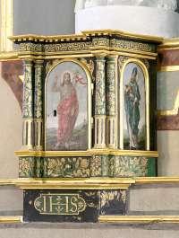 Le tabernacle latéral nord