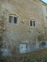 Façade est du bâtiment des hôtes