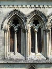 Détail des baies du deuxième étage de la façade ouest