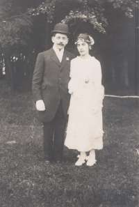 Mariage de René Fleury
