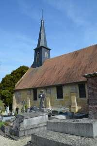Extérieur église de Castillon-en-Auge