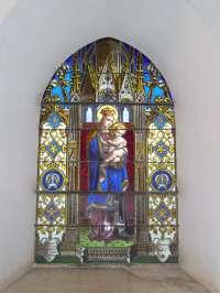 Vitrail, Vierge à l'Enfant, 1877 (10)