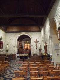 Eglise de Quetteville. Intérieur.