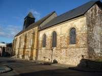 Le Sap, église Saint-Pierre et Saint-Paul, façade sud