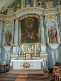 Le Sap, église St-Pierre-St-Paul, choeur, maître-autel