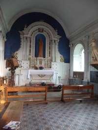 Le Sap, église St-Pierre-St-Paul, chapelle de la Vierge